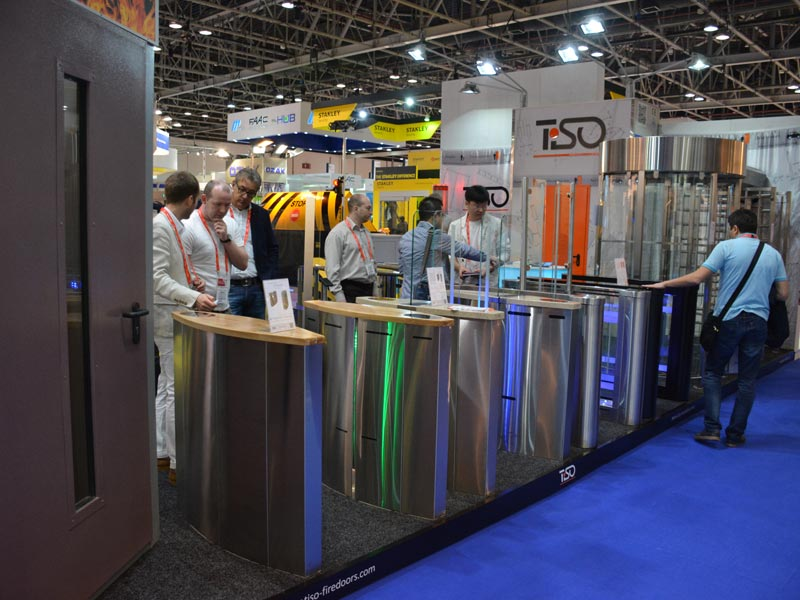 Freeway turnstiles, Intersec 2015